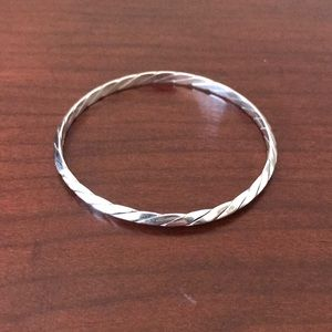 Tiffany and Co sterling silver bangle